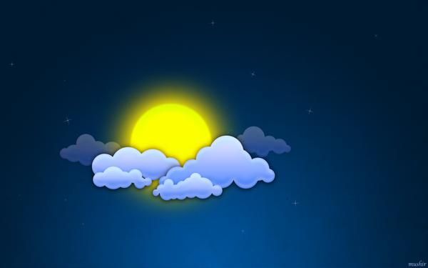 Night sun by mushir