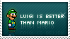 Luigi Stamp by mushir