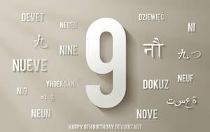 Happy 9th Birthday dA by mushir