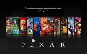 Pixar Wallpaper by mushir
