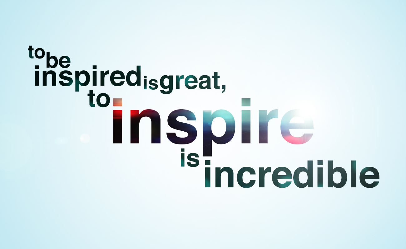 To Inspire