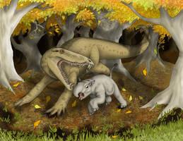 Beasts of Antediluvia by Pterosaur-Freak