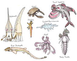 The Future Gets Wilder: The Tentacled Forest by Pterosaur-Freak