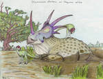 Draw Dinovember day 2 ~ Styracosaurus albertensis