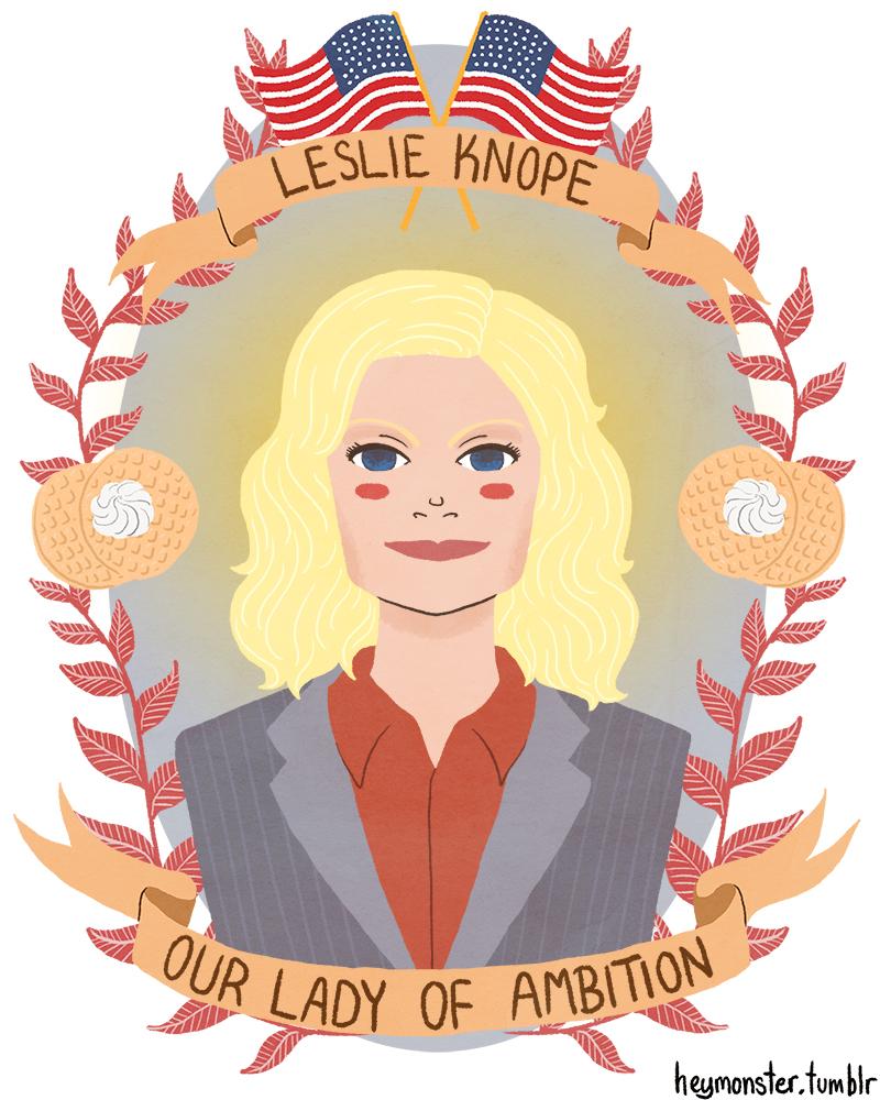 Leslie Knope by theblamelessflame