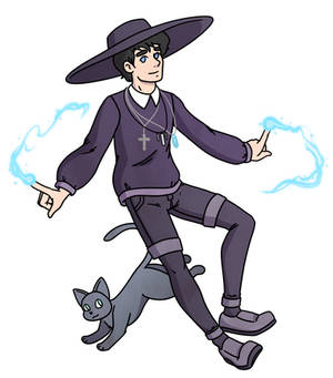 Witch dude