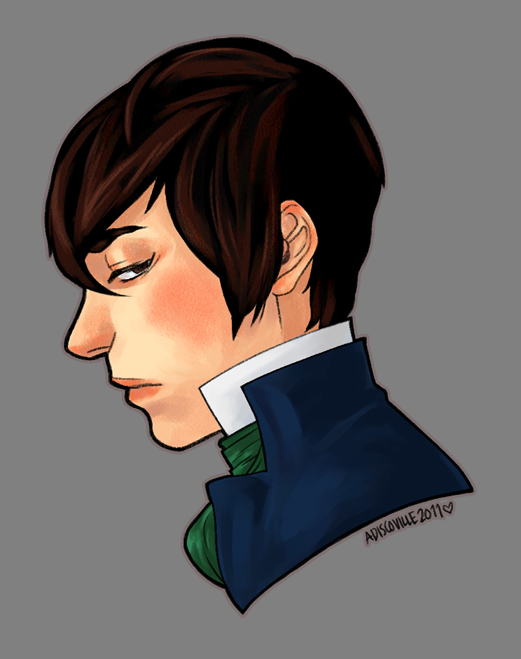 percy profile bust by eddykins