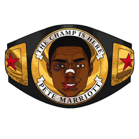 THE CHAMP IS HERE by eddykins
