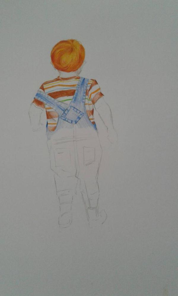 red hair boy by Marionettenherz