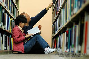 Visiting The Books by Yesitsdrew5310