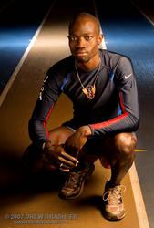 Sports Portrait - Lopez Lomong by Yesitsdrew5310
