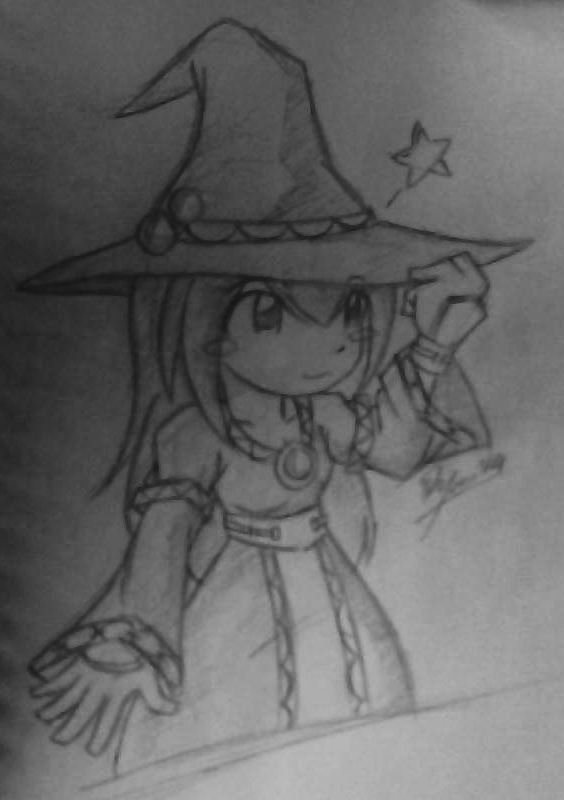 Little Witch by foresteronly