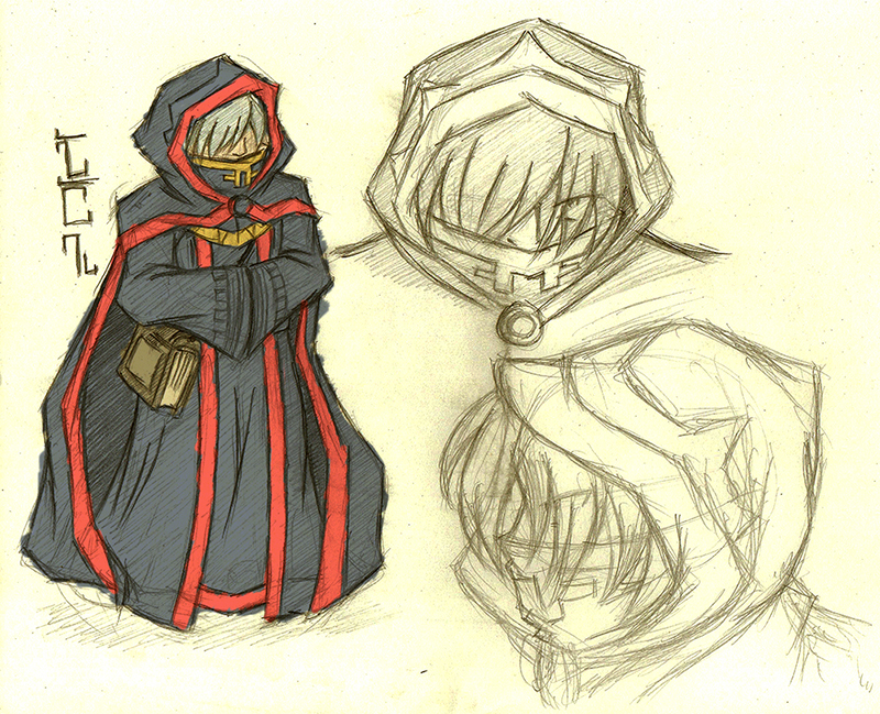 The Dark Scripter Magas - Concept Art by foresteronly