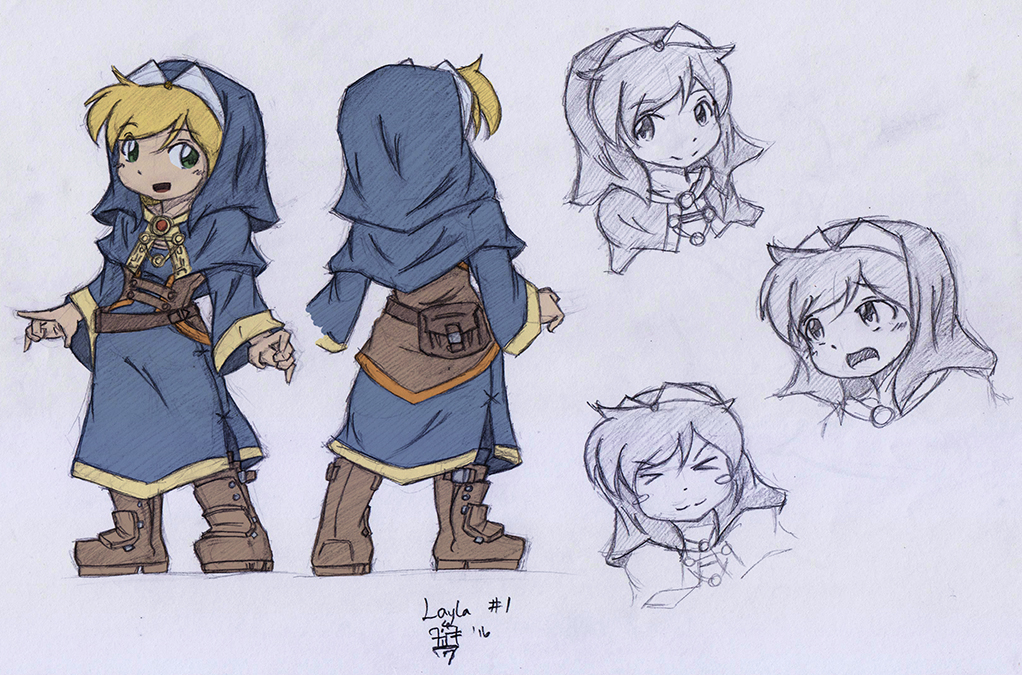 Layla, the Sister of Nirvanne by foresteronly