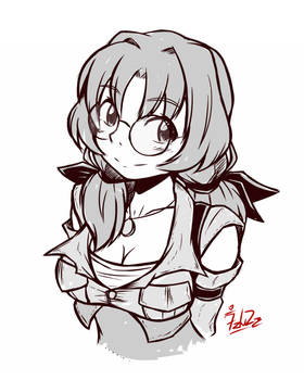 Doodle: The Scout Girl