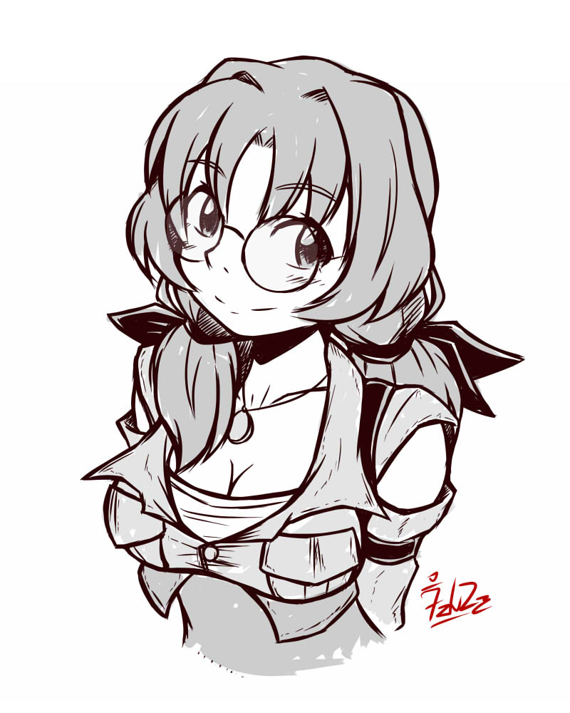 Doodle: The Scout Girl by foresteronly