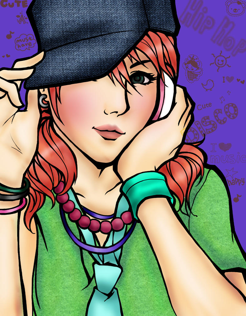 Vanille Hipster by art358
