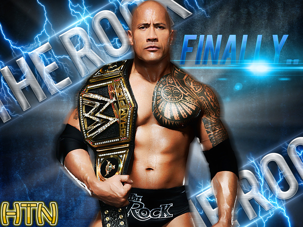 Images Of The Rock Wwe: Wwe The Rock The Most Electrifying Champion Hq By By