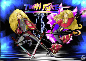 Twin Force Episode II by lauralaima