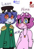 Zobie's parents by Captaiin-Flora