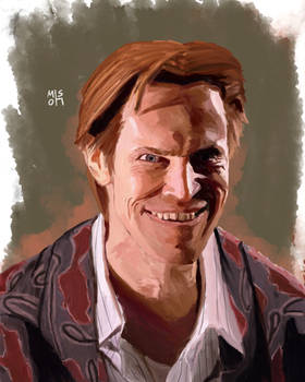 Willem Dafoe as Norman Osborn aka Green Goblin