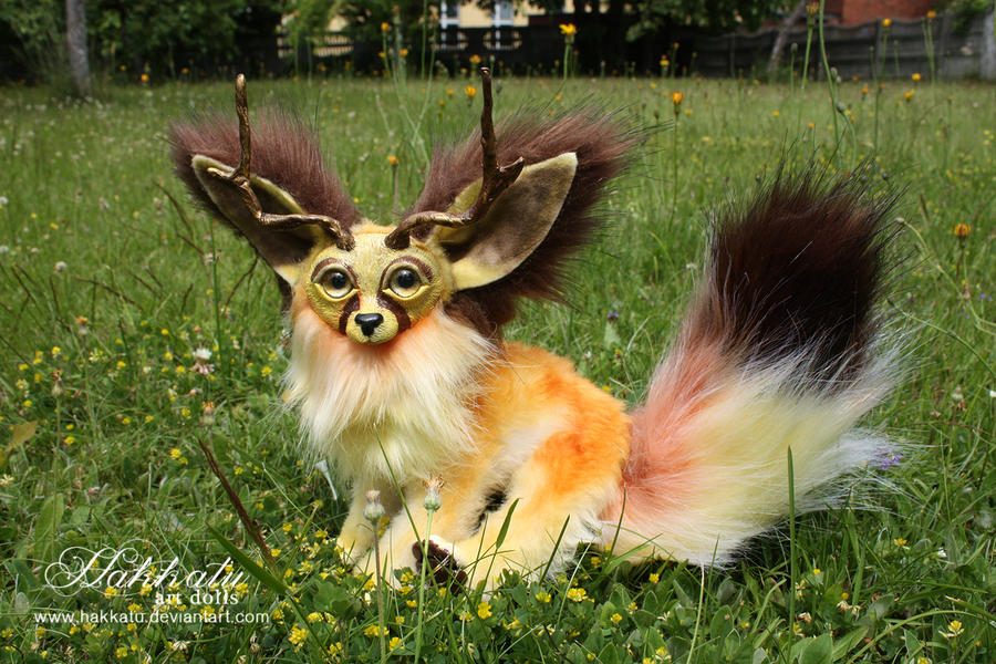 For Sale Poseable Baby Fennec Fox By Aurorawilc On Deviantart