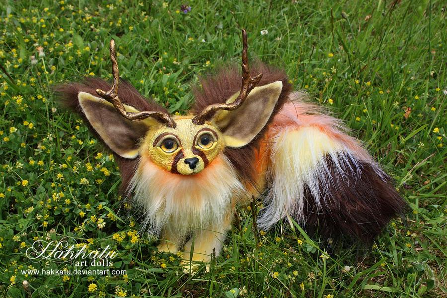 Poseable baby fennec fox by hakkatu on deviantart - Pagina da colorare fennec fox ...