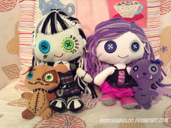 .:Monster High plushies:. by BubblegumBloo