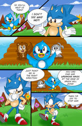Sonic the Hedgehog: A Story - page 19