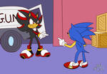 #30DaysSonic Day 12: Resemblance by RiotaiPrower