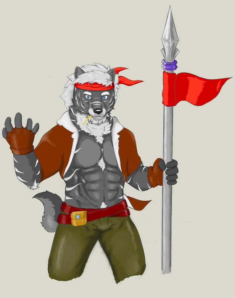 Trung- Wolf warrior by SilverWolfXZ
