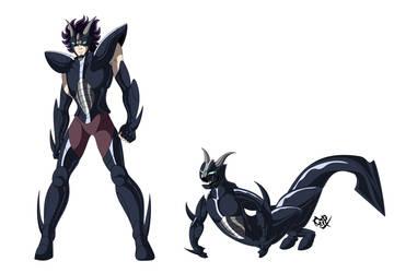 Sea Satyr Fabio (anime version) by Cerberus-rack