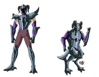 Krampus specter by Cerberus-rack