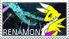 Renamon Stamp 001 by luvini