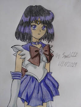 Sailor Saturn!