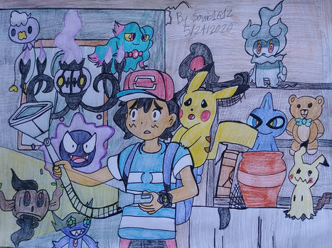 Ash's Haunted Mansion!