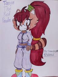 Tanya The Red Panda! (New Sonic OC!)