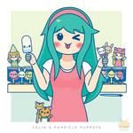 Celia's Popsicle Puppets
