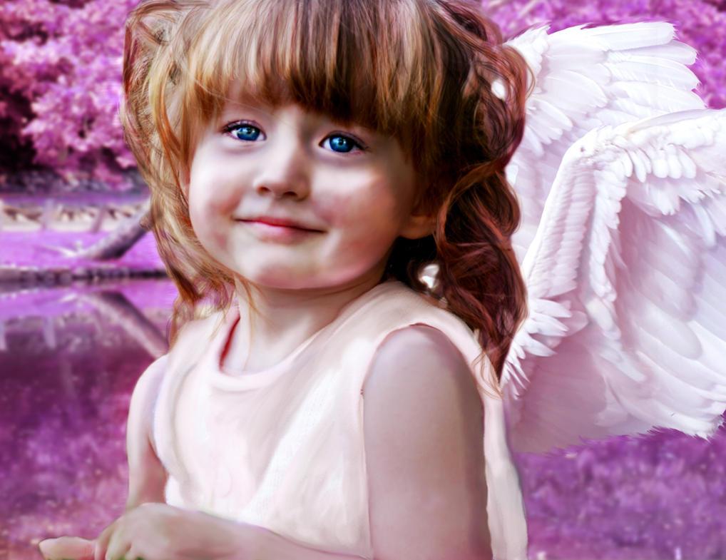 Littlest Angel by PattiPix