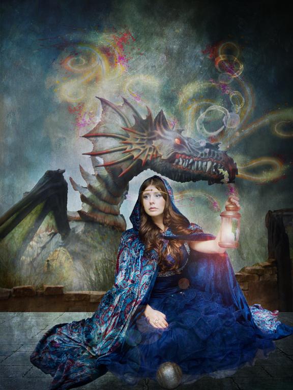 Dragonlady Small by PattiPix