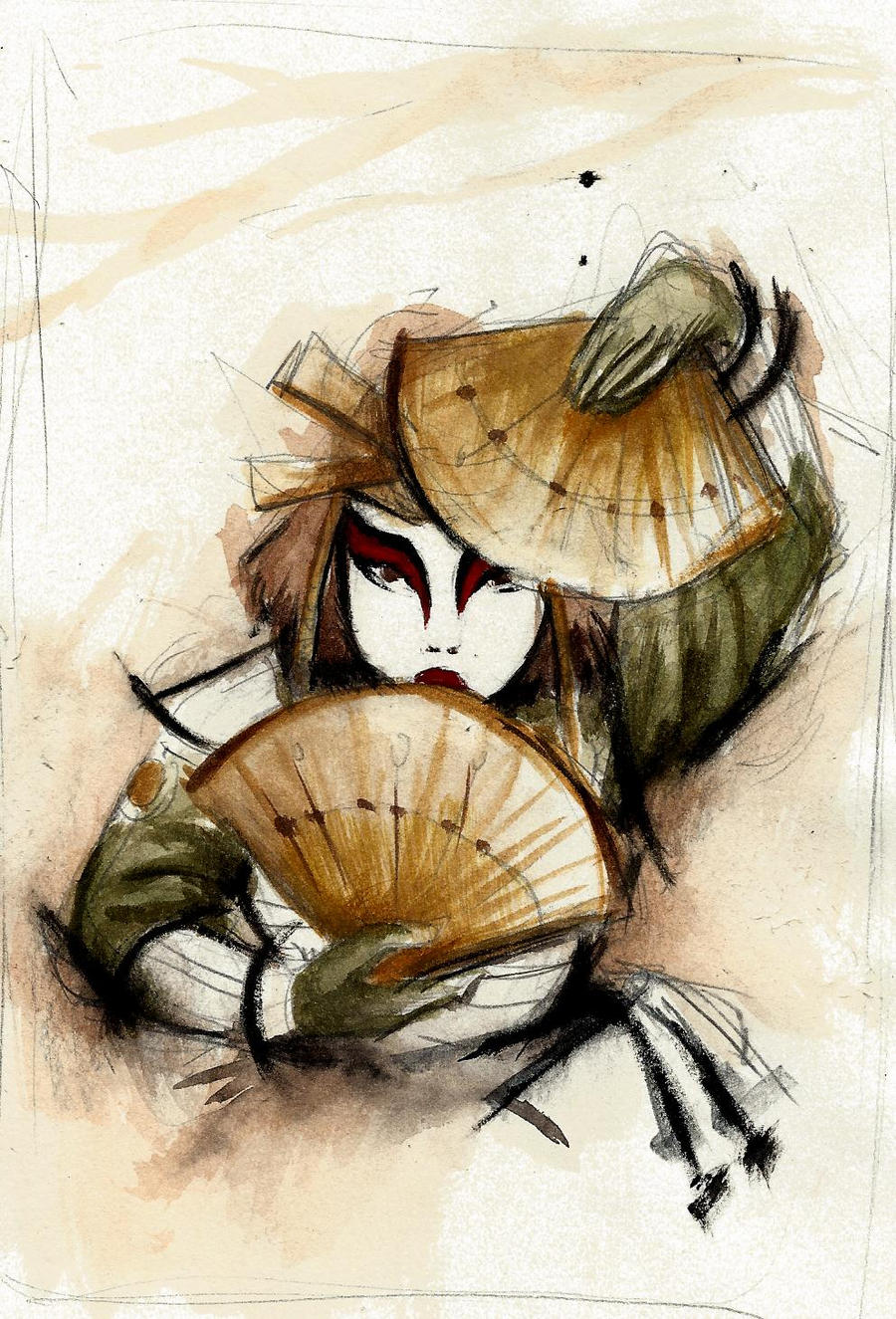 Kyoshi Warrior by winderly