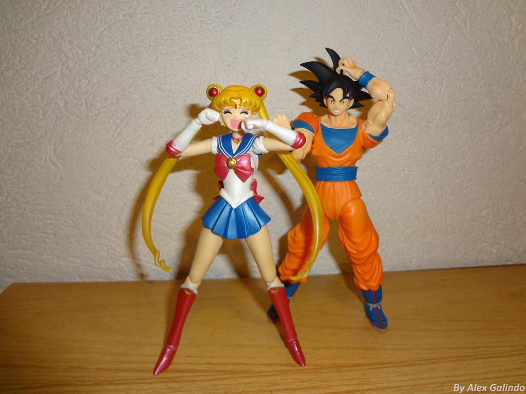 Goku hizo llorar a Sailor Moon by Aioros87