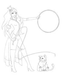 Feline Tamer - Contest by kamiawolf