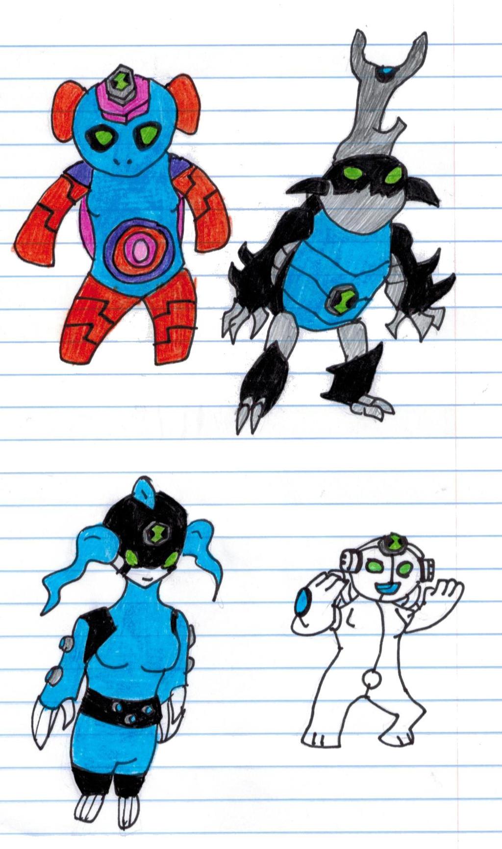 Gwen 10 Aliens