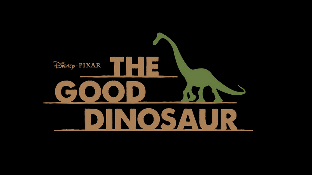 disneypixar the good dinosaur official logo by
