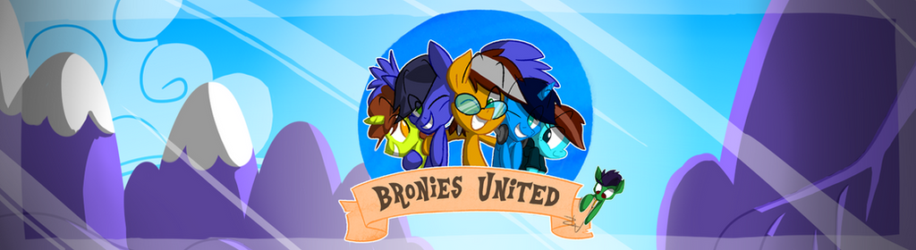 Bronies United Banner by Animation100