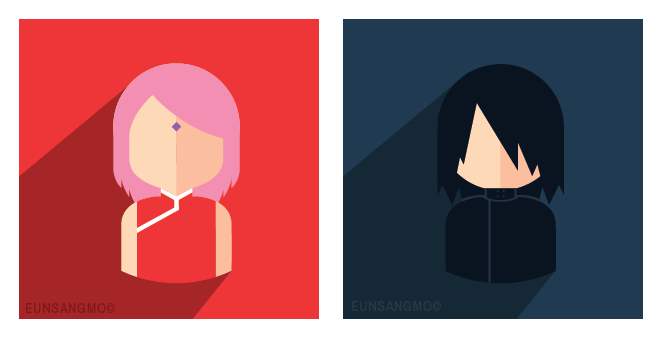 SasuSaku - Icons by eunsangmo