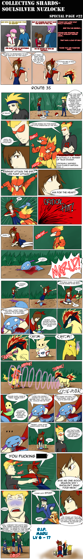 SPECIAL SoulSilver Nuzlocke Page 22 by LittleScarecrow