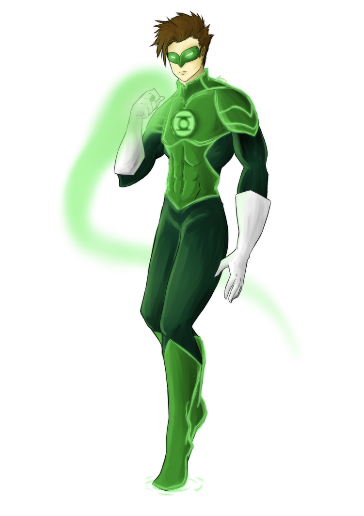 Green Lantern - Hal Jordan by LittleScarecrow on DeviantArt