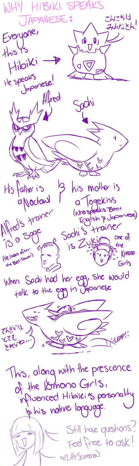 Why Hibiki Speaks Japanese... (desu desu)~~ by LittleScarecrow